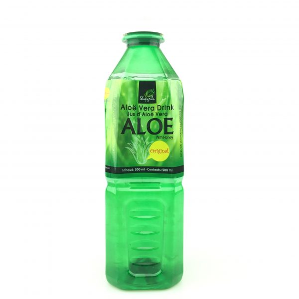 Aloe vera drink with honey 500ml.