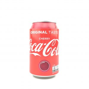 Coca cola cherry 330ml.