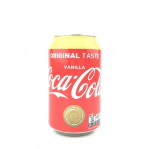 Coca cola vanille 330ml.