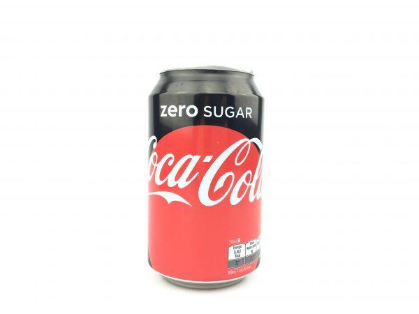 Coca cola zero 330ml.