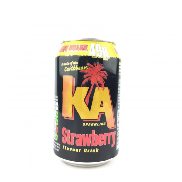 KA strawberry 330ml.