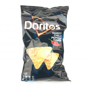 Doritos sweet chilli pepper flavour