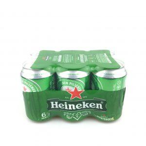 Heineken sixpack 330ml.
