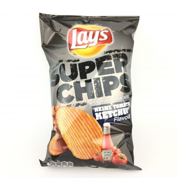Lays super chips heinz tomato ketchup