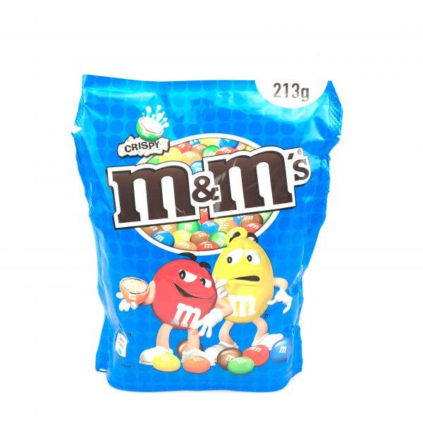 M&M's crispy 213g.