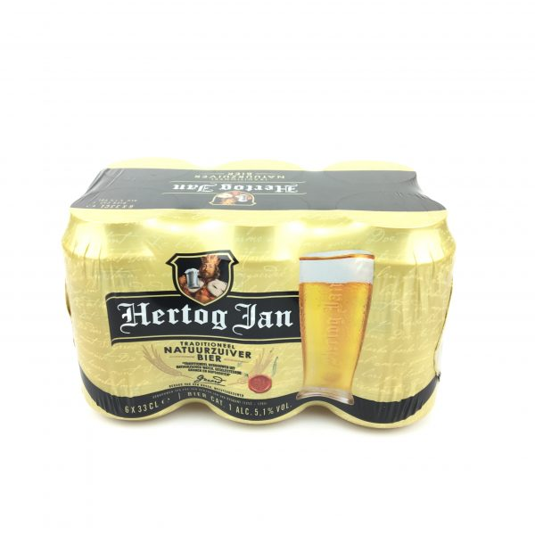 Hertog Jan Sixpack Blik 33cl