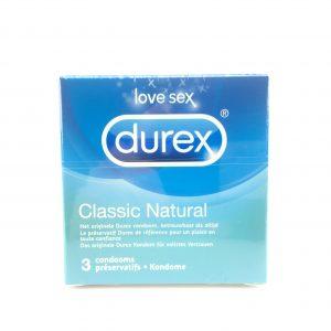 Durex classic natural 3 stuks