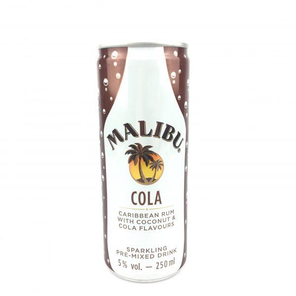 Malibu cola 250ml.