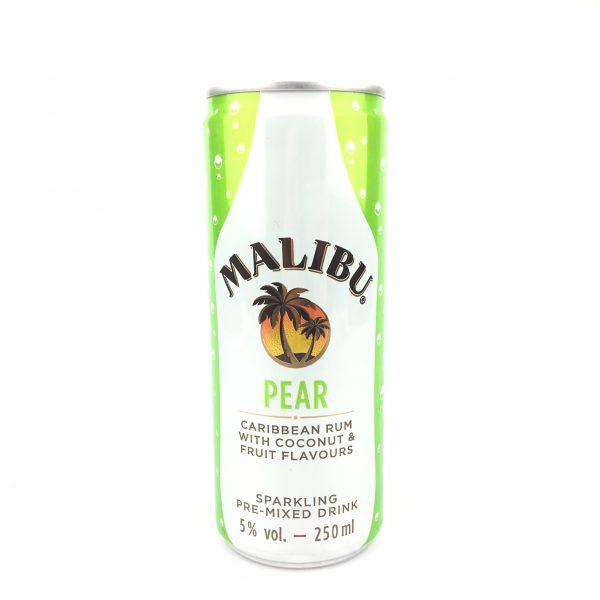 Malibu pear 250ml.