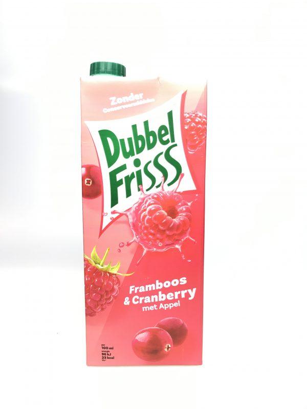 Dubelfrisss framboos cranberry